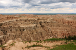 USA - parc national de Badlands