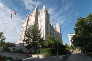 USA - Salt Lake City - monuments des Mormons